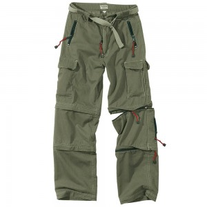 Spodnie trekking trousers Surplus oliv