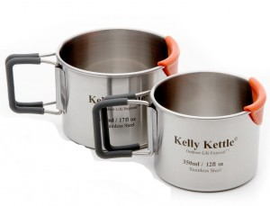 Camping Cup set (350 & 500ml) Kubki Kelly Kettle